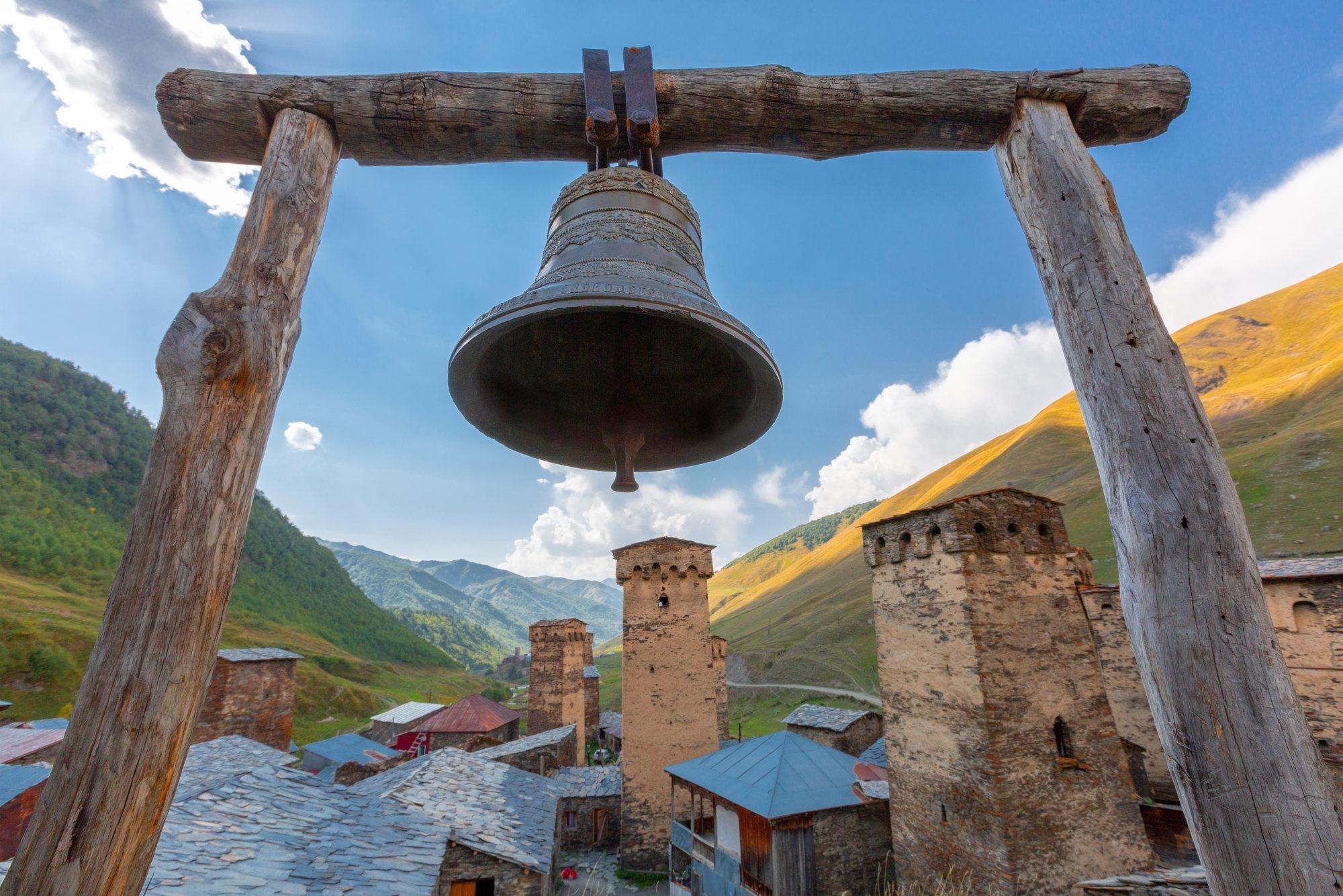 Church bells of an Orthodox Christian church