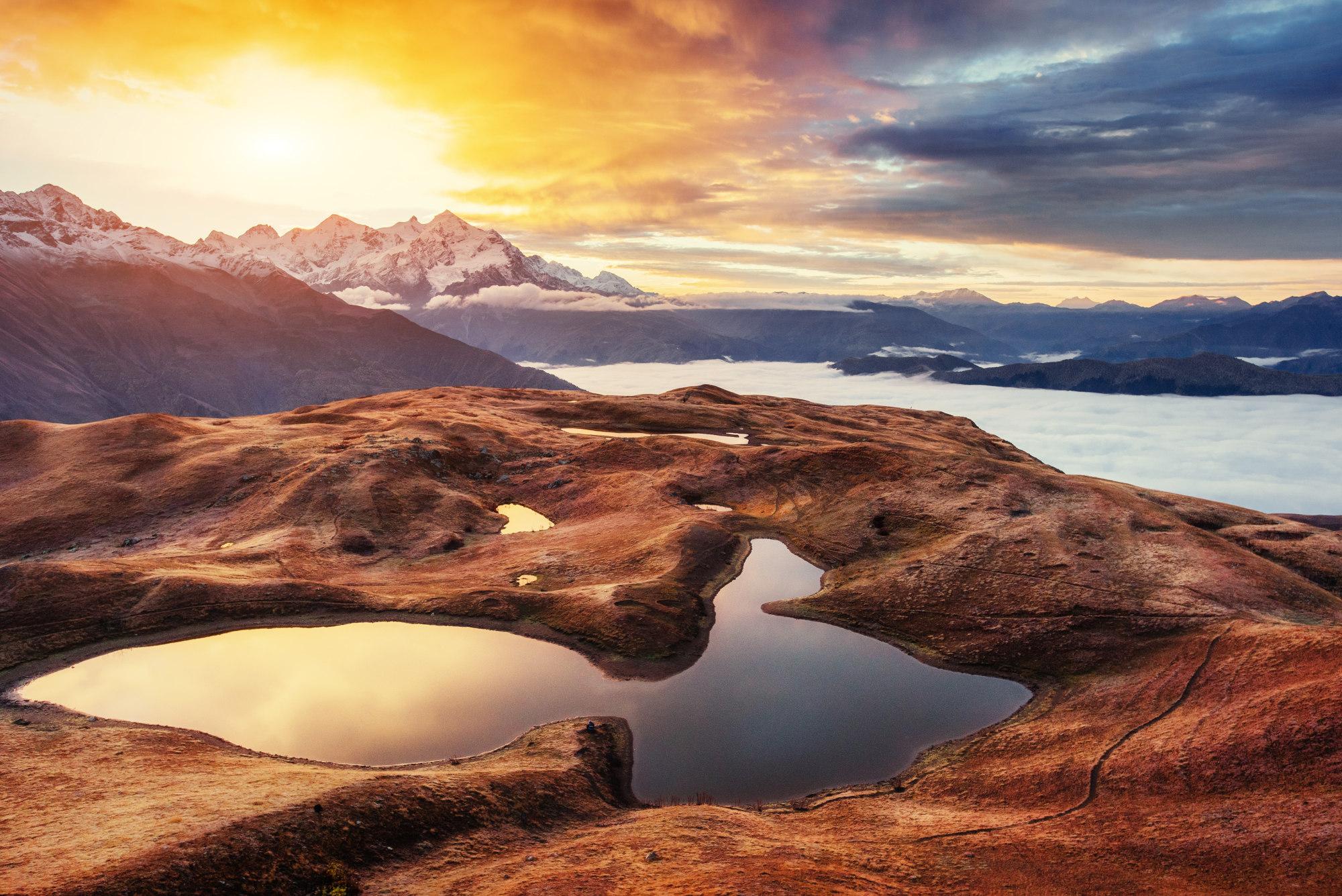 Sunrise over the Great Caucusus