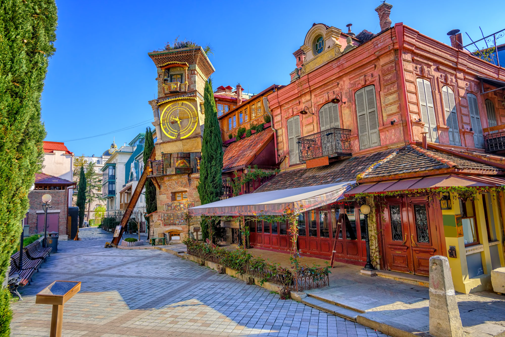 The old town of Tbilisi