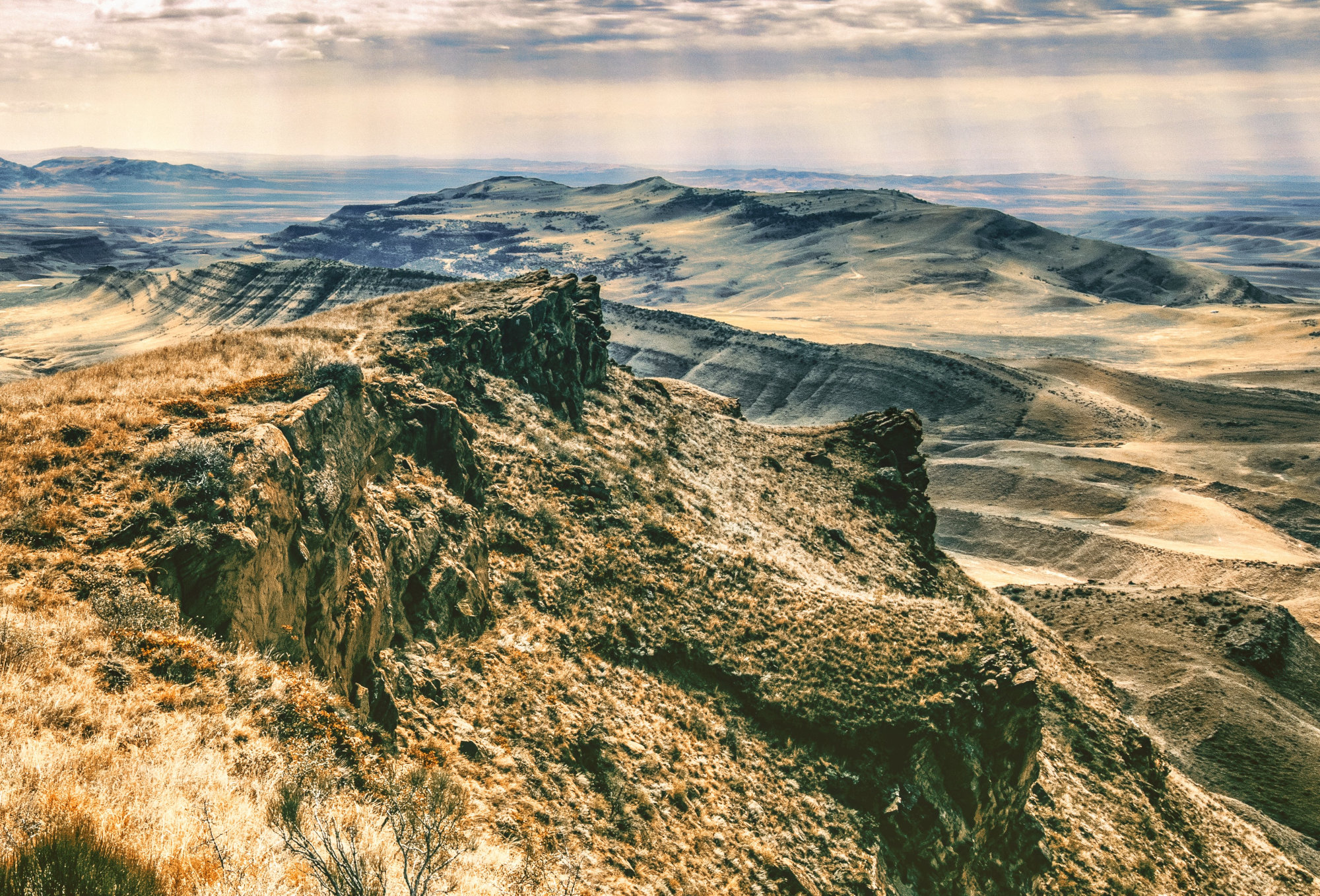 Vast views from the Azerbaijan border