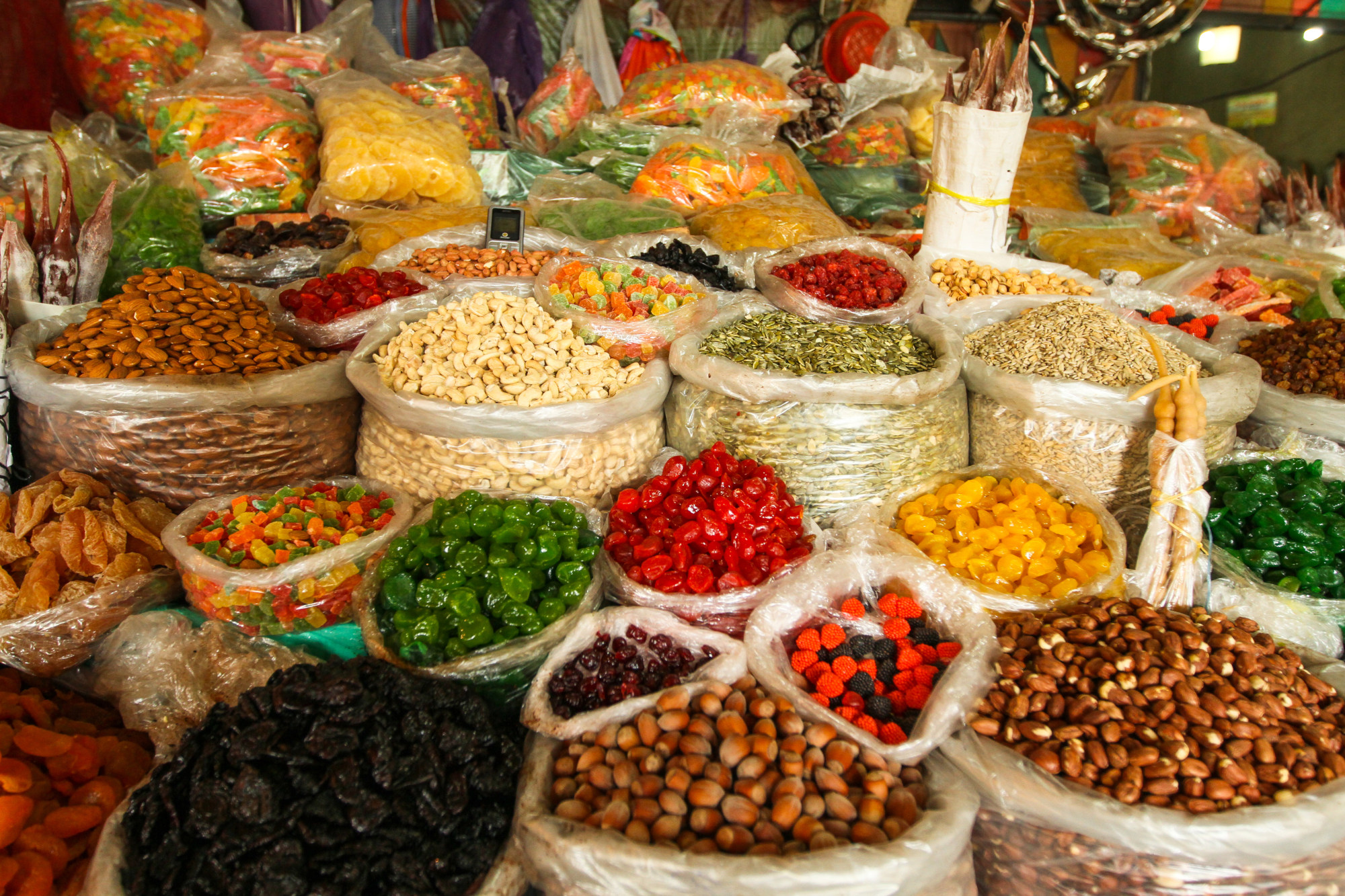 Local food markets are worth a visit!