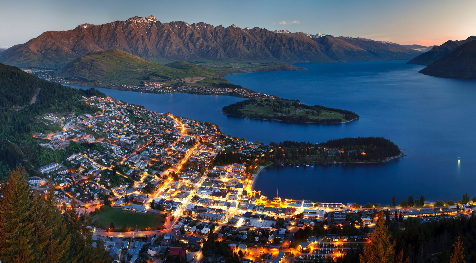 Queenstown is the adventure capital of New Zealand