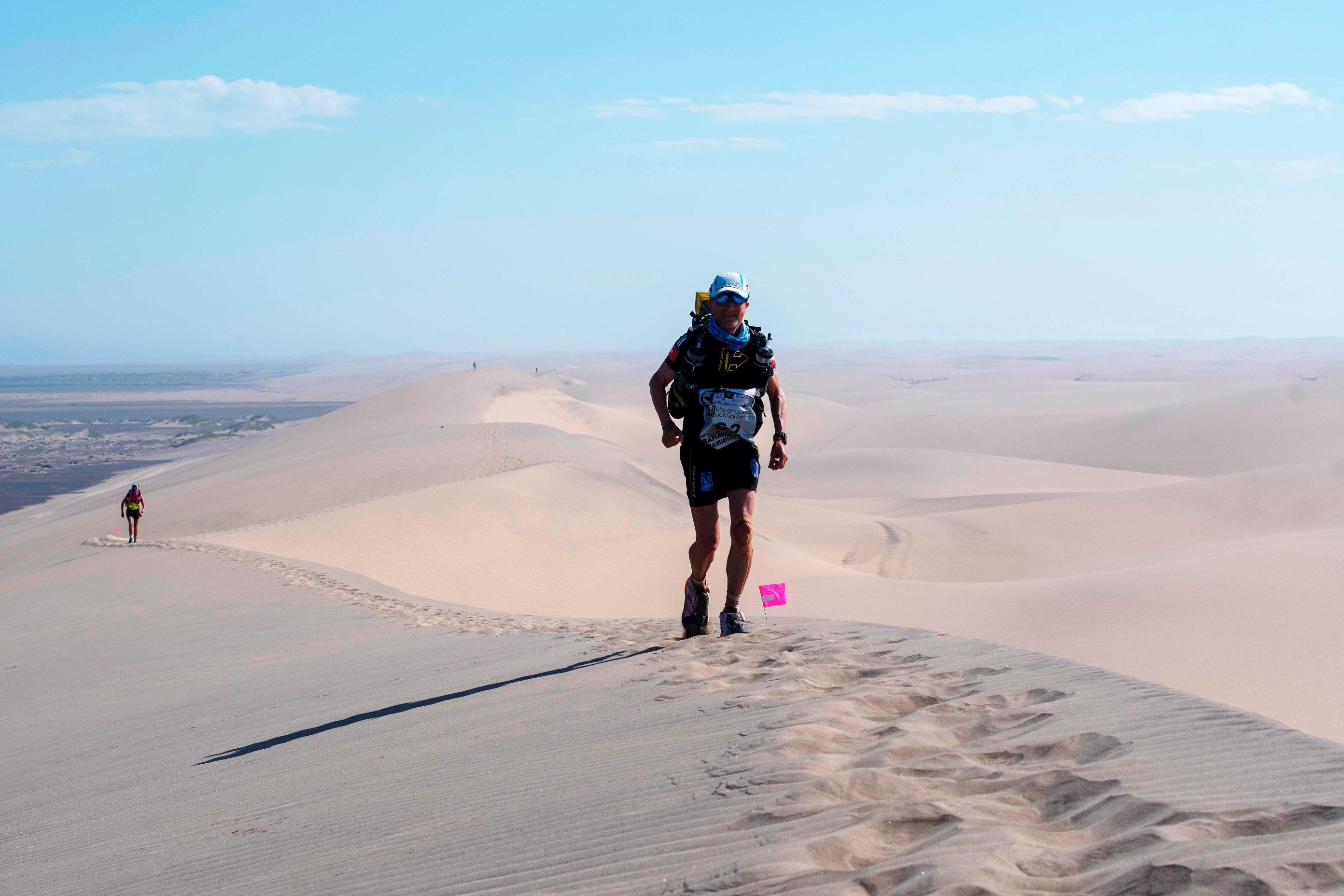 On Top of the Highest Dunes in the World