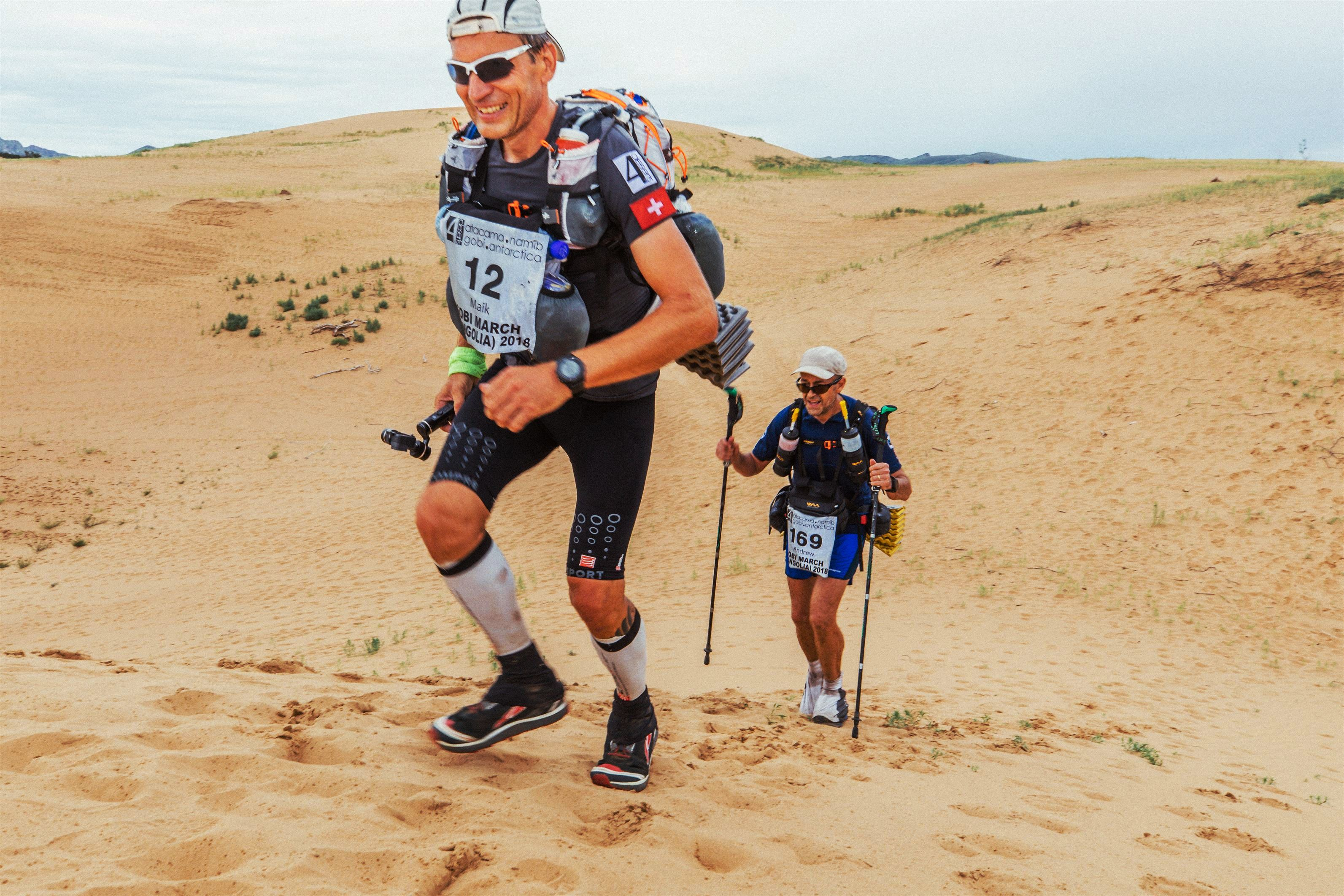 STAGE 3: Maik Becker & Andrew Perkins in the dunes