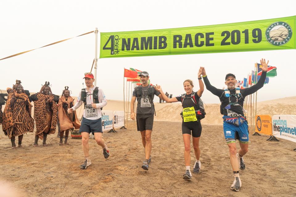 Richard Sanderson, Christophe Santini and Rodric Williams