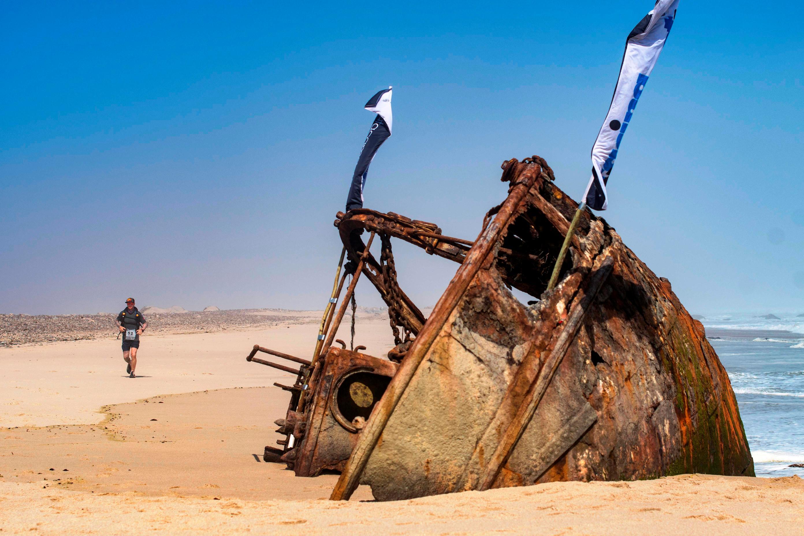Shipwrecks on the Skeleton Coast