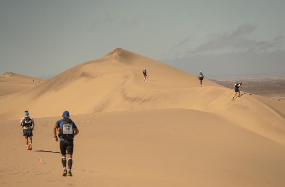 Running the dunes