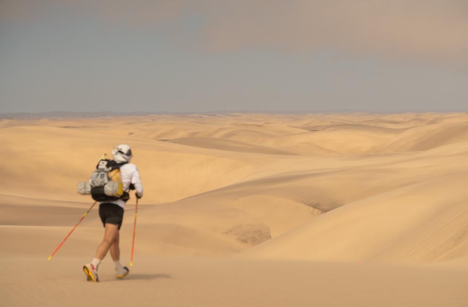 Never ending sand
