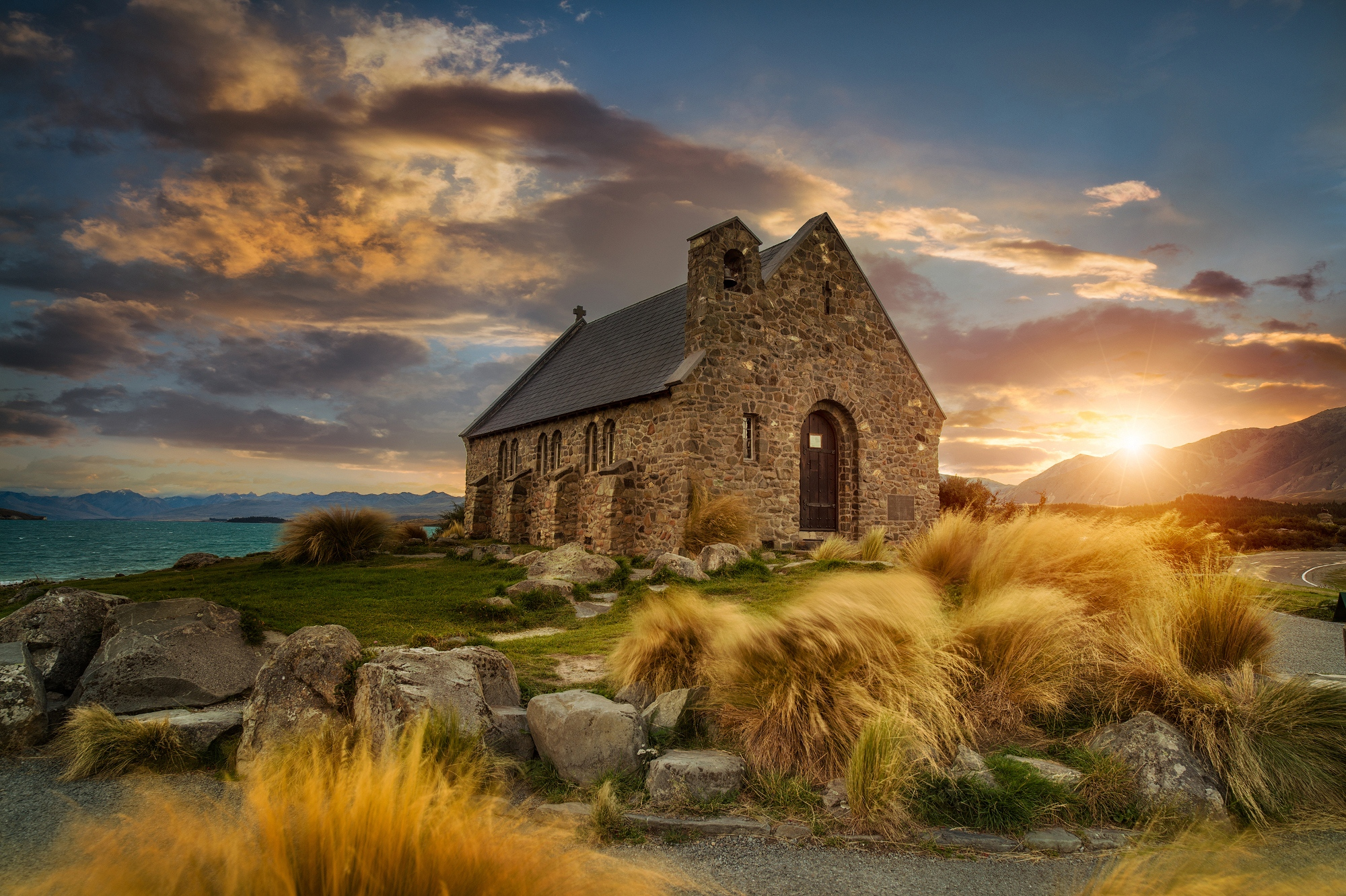 Historical church in New Zealand